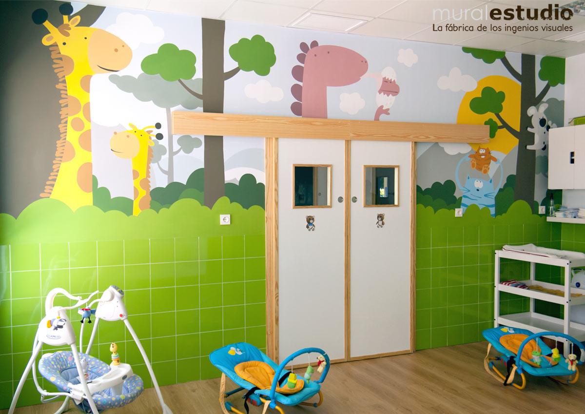 Muralestudio murales infantiles - Mural habitacion infantil ...