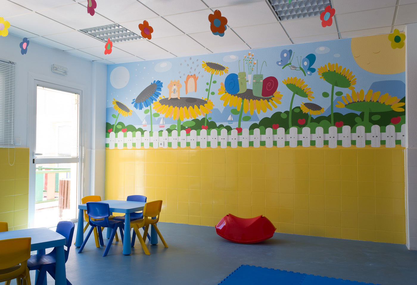 Muralestudio murales infantiles for Decoracion de guarderias