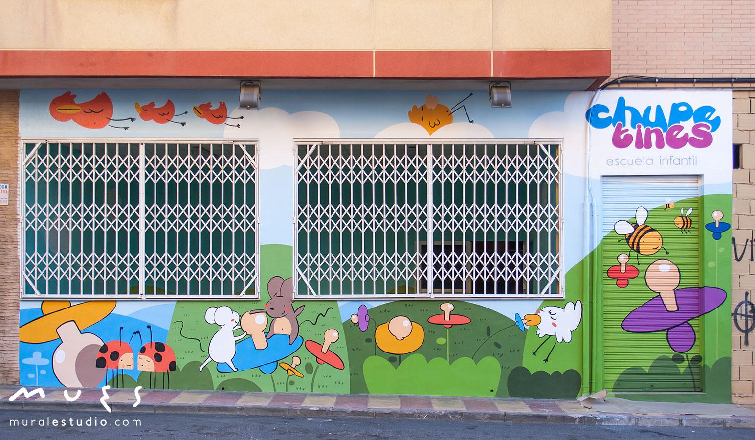 Muralestudio murales infantiles for Escuela de decoracion